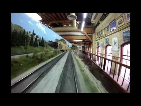 Twin Cites Model Railroad Museum O-Gauge Layout: Engineer's Cabin View