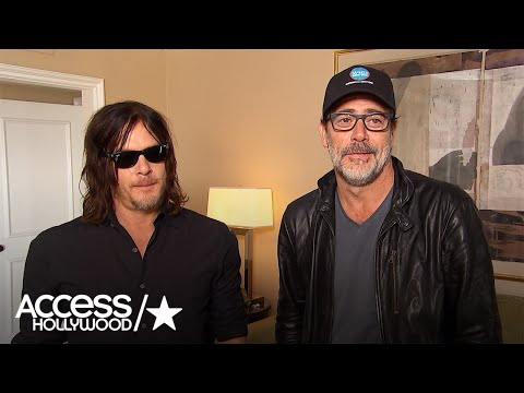 Jeffrey Dean Morgan & Norman Reedus Talk Fan Reaction To 'The Walking Dead' S7 Premiere Shockers