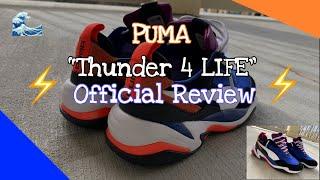 Puma Thunder 4 Life Review - YouTube