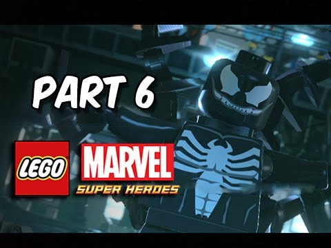 LEGO Marvel Super Heroes Gameplay Walkthrough - Part 6 VENOM ...