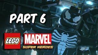 LEGO Marvel Super Heroes Gameplay Walkthrough - Part 6 VENOM Exploratory Laboratory Let