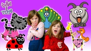 Story Time with Kate & Lilly | Kittens, Ladybugs, Peacocks, GIANTS, and Butterflies!!