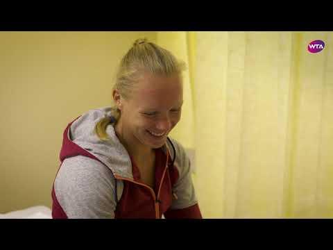 USANA: Pre-Match Routine with Kiki Bertens
