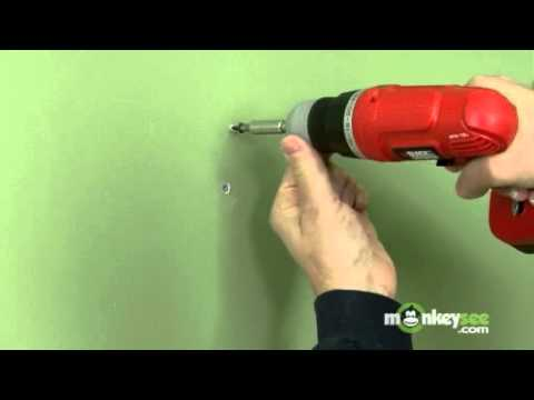 Fixing Small Holes And Nail Pops - Youtube