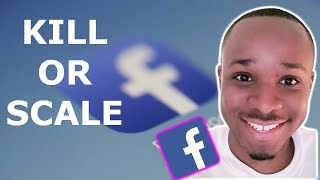 When to KILL OR SCALE Facebook Ads for Shopify Dropshipping