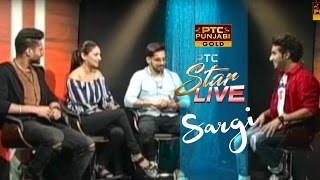 JASSIE / BABBAL / RUBINA Live in PTC Star Live | SARGI | Exclusive Interview | PTC Punjabi Gold