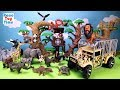 Animal Planet Zoo Animals Transporter Toy Playset For Kids - Learn Animal Names