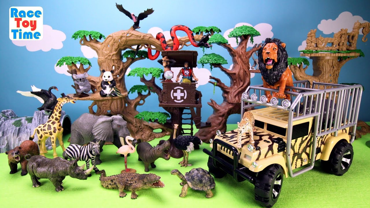 Best Animal Planet Toys For Kids And Toddlers : Animal planet zoo animals transporter toy playset for kids