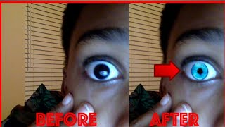 THIS TRICK WILL CHANGE YOUR EYE COLOR *not clickbait*