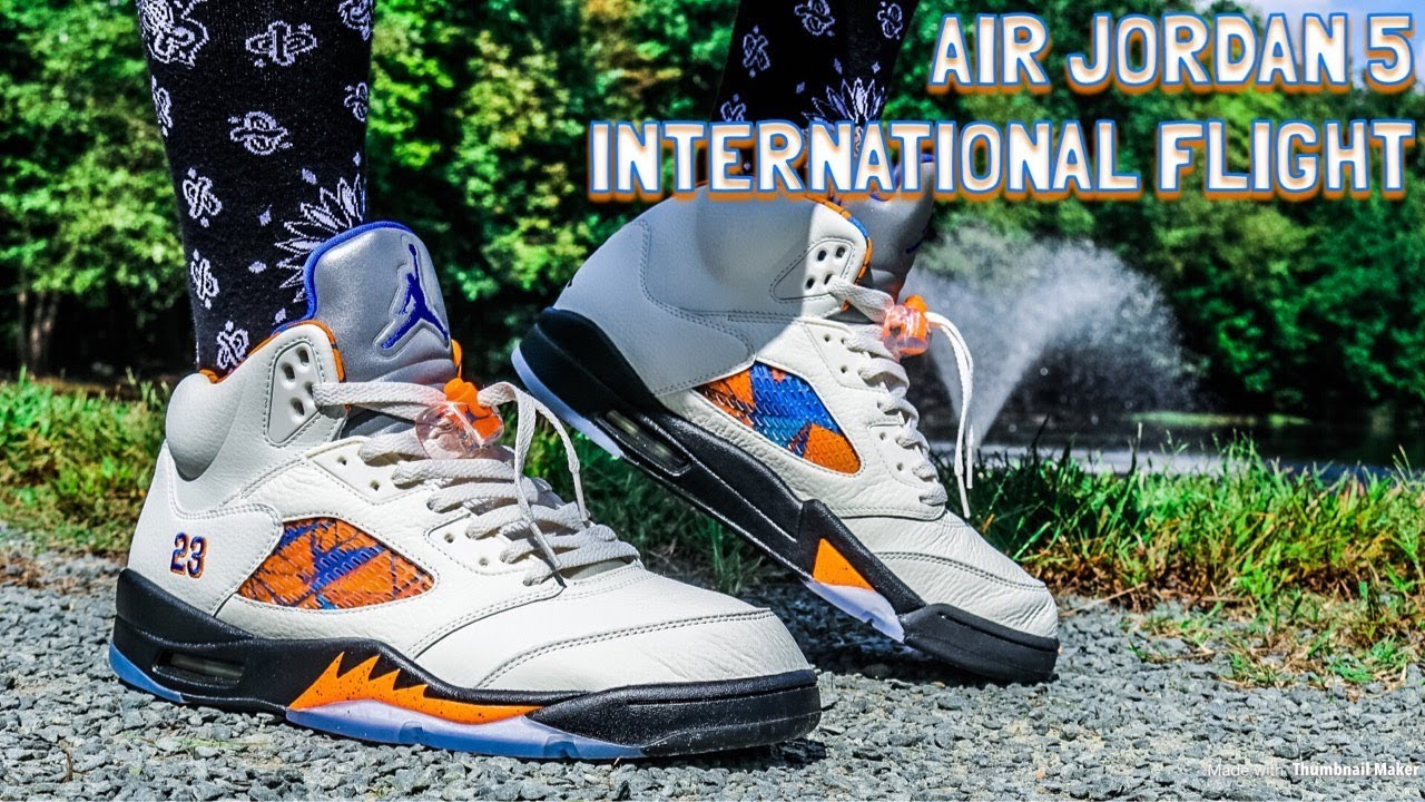 AIR JORDAN V 5 INTERNATIONAL FLIGHT REVIEW   GAS ON FOOT!! - YouTube 27d61d7d9