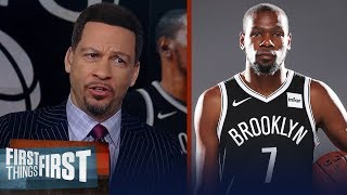 Kevin Durant needs a title with Nets to cement legacy — Chris Broussard | NBA | FIRST THINGS FIRST