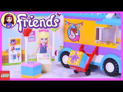Lego Friends Heartlake Gift Delivery Build Review SIlly Play - Kids Toys