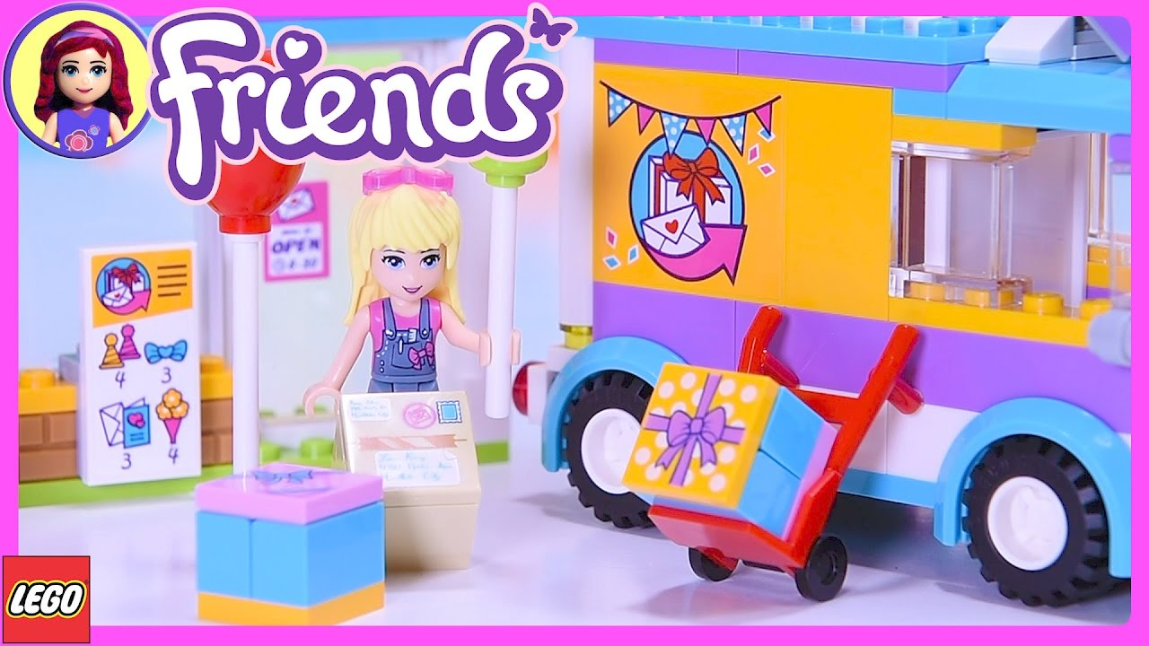 Lego Friends Heartlake Gift Delivery Build Review SIlly ...