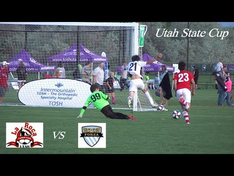 Utah State Cup - La Roca TC vs Forza DN -U13 Tournament soccer