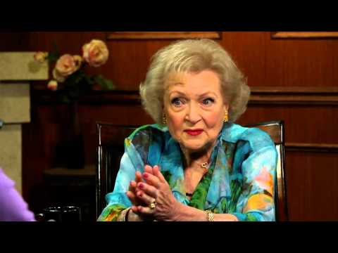 Betty White On The Loss Of Mickey Rooney   Betty White Interview   Larry King Now - Ora TV