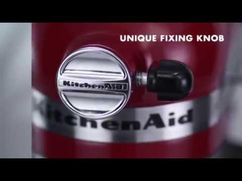 Máy trộn bột KitchenAid Artisan stand mixer - POKA.vn