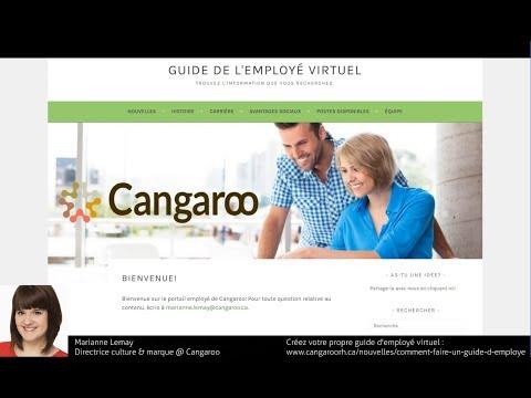 Exemple d'un guide de l'employé virtuel