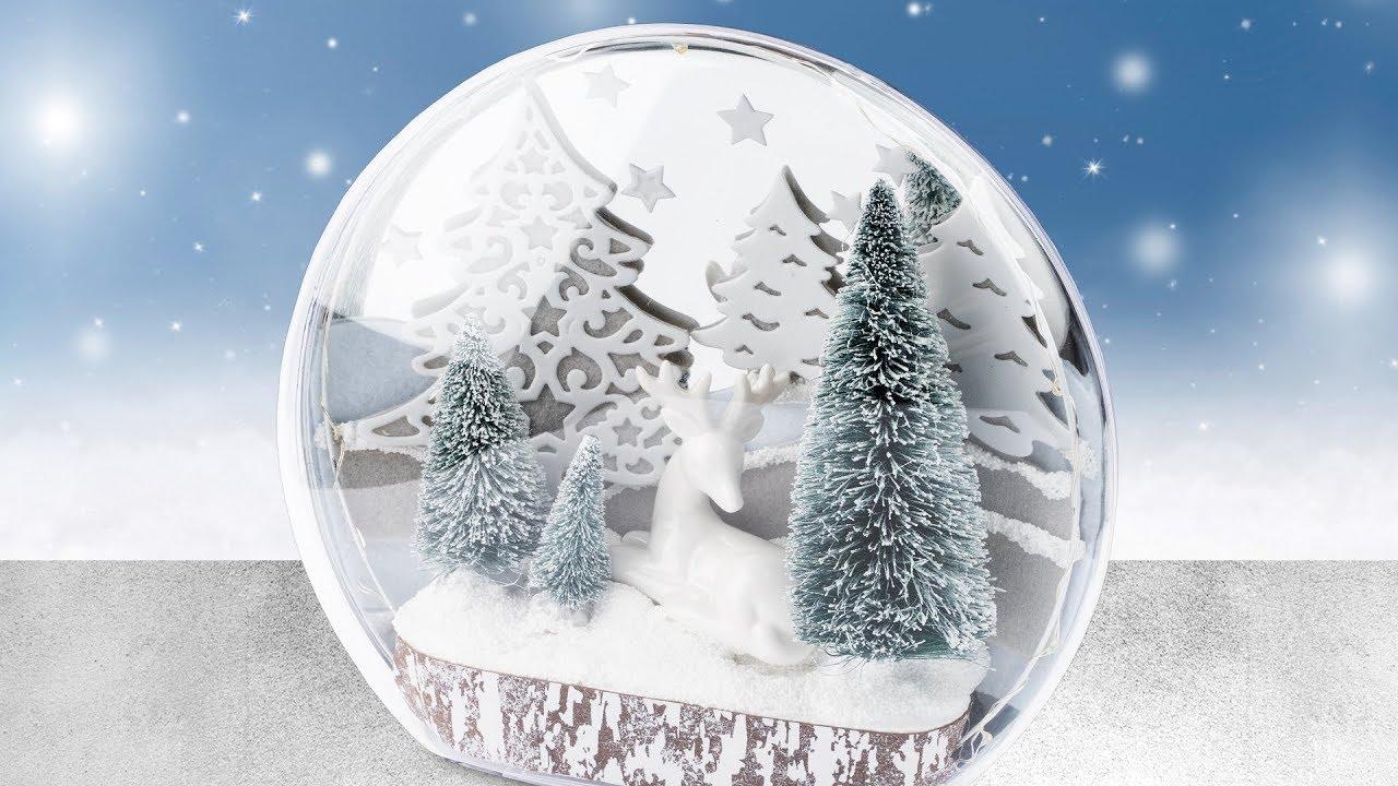 Ideen Mit Herz Magic Medaillon Basteln Weihnachts Deko Selber Machen Diy Winter Wonderland
