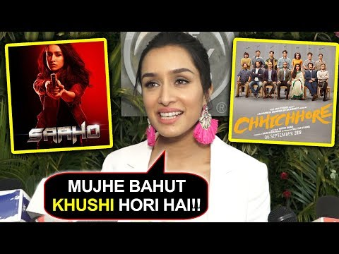 Shraddha Kapoor REACTS On Her Back To Back Successful Films Saaho & Chhichhore Mp3