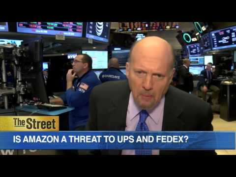 Amazon Reports Earnings on Thursday; Here's What Jim Cramer Is Looking For