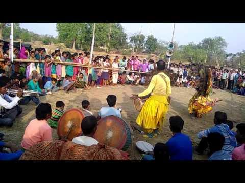 PURULIA CHHOU DANCE HD with jhumur song best till now kirat ar kiratini by daktar mahato