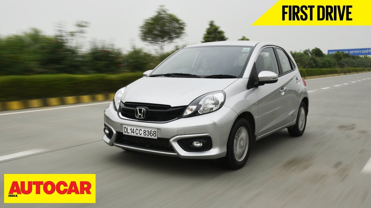 Honda Brio First Drive Autocar India YouTube - Auto car honda