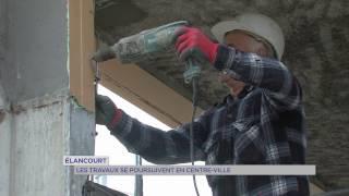 Elancourt : les travaux se poursuivent en centre-ville