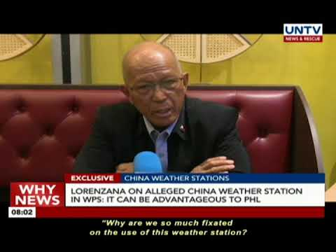 EXCLUSIVE: Lorenzana on alleged China weather station in WPS: It can be advantageous to PHL