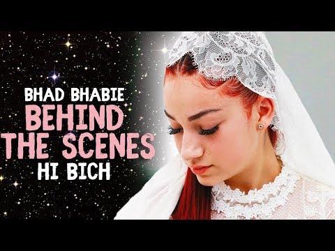 "Danielle Bregoli is BHAD BHABIE ""Hi Bich / Whachu Know"" BTS music video"