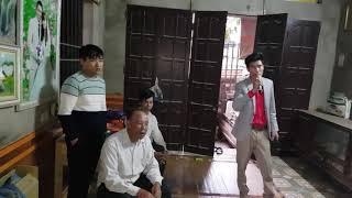 Lên nhà em Tuân. Việt Yên. Bắc Giang lắp bộ hát karaoke. Cty Đt Hanh Nguyễn 0936583140