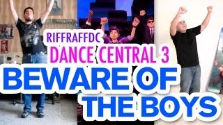 """Dance Central 3 Collabo """"Beware of the Boys"""" (Hard) 100% Gold Gameplay"""