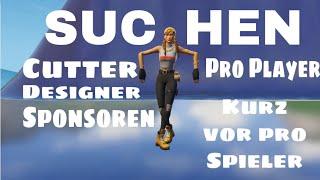 WIR SUCHEN MEMBER | CUTTER,DESIGNER,...(guckt Beschreibung) | Fortnite deutsch