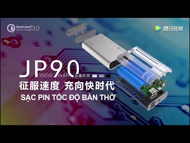 Pin s?c d? phòng Joway JP90 - Quick Charge 3.0 -  S?c c?c nhanh  . Phiên b?n 2018