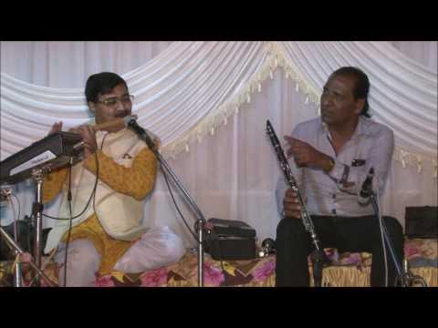Flute Clarinet Jugalbandi Raag Ahir Bhairav Albela sajan aayo re Flute by Chandrakant Kotecha CK