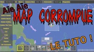Réparer une map modée corrompue [Tuto Minecraft 1.7.10 - MCEdit]