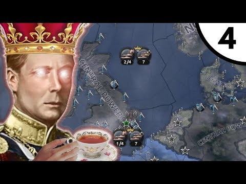 Anglo German Alliance [Hoi4 Man The Guns: United Kingdom The