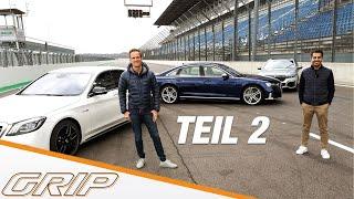 Luxus-Powerlimos: Audi S8, BMW M 760Li, Mercedes-AMG S 63 Teil 2 I GRIP