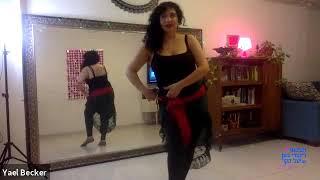 פרומו לשיעור מתחילות   - ריקודי בטן אונליין עם יעל בקר