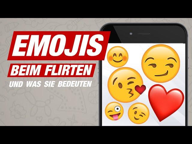 Von 😏 bis 😘: 20 Emojis & ihre Bedeutung bei Frauen