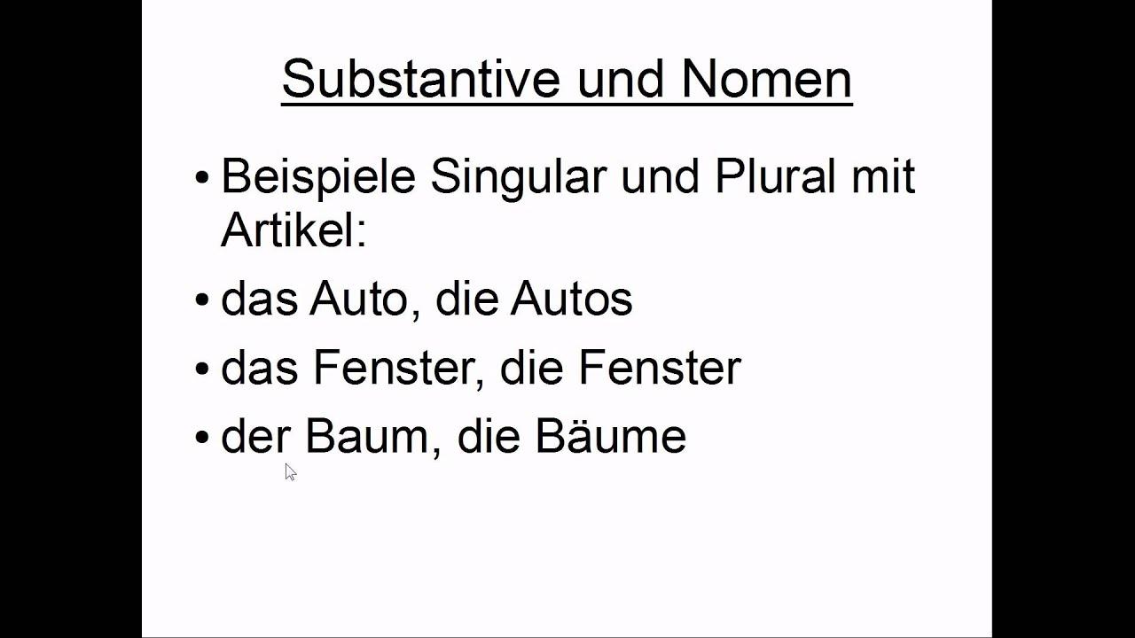 Beispiele Fur Nomen Verben Adjektive Stufe1 0