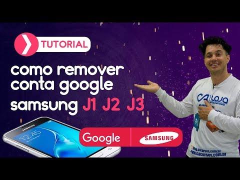 Remover Conta Google Samsung J1 J2 J3 J5 J7 S5 S6 S7 Gran Prime ETC. Sem Downgrade