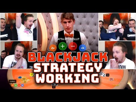 Blackjack Strategy Working (lucky Session)