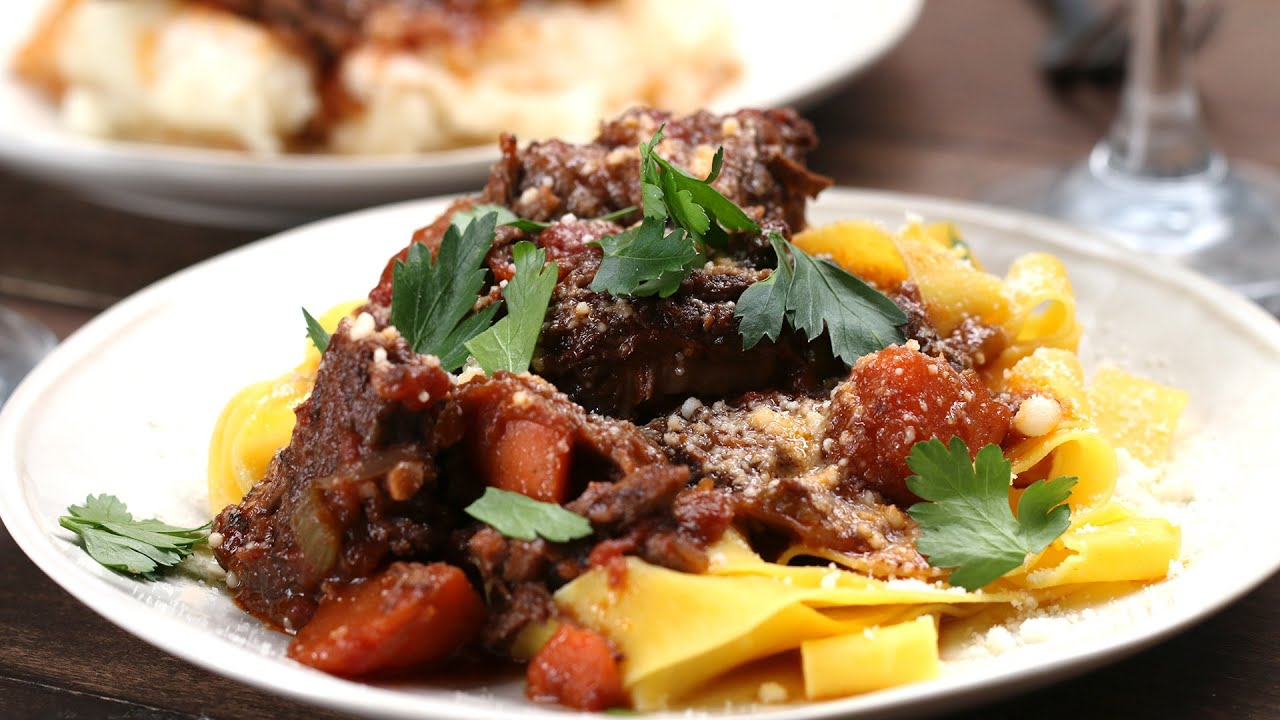 Braised Short Rib Ragu - YouTube