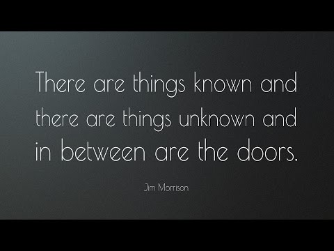 Jim Morrison - The Dark Poems (An American Prayer)