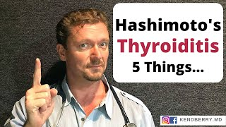 hashimotos thyroiditis 5 things you need to know 2018
