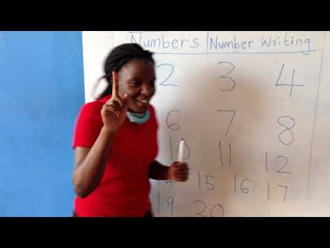 How to write numbers 1 to 20| PP1 Mathematical Activities| online learning