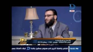 العاشرة مساء  الشيخ وليد: يوضح سبب الدعوة لملحق المفطرين فى شهر رمضان وإلقاء القبض عليهم