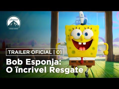 Bob Esponja: O Incrível Resgate | Trailer Oficial | DUB | Paramount Pictures Brasil