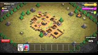 Clash of Clans:Attacking Maginot Line
