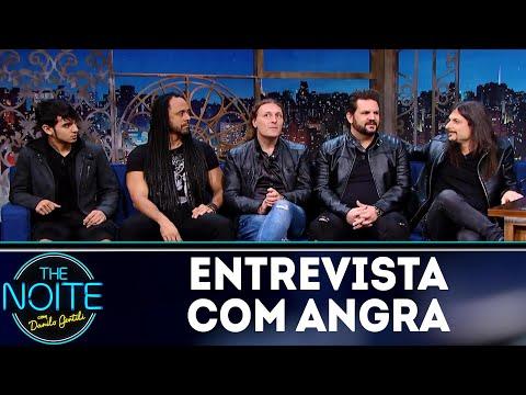 Entrevista com Angra | The Noite (13/07/18)